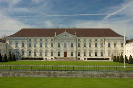 bellevue: Bellevue Palace in Berlin, Germany Stock Photo