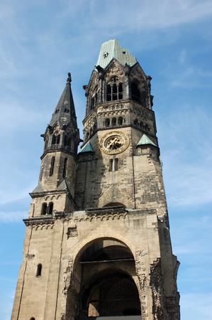 kaiser: Kaiser Wilhelm Memorial Church in Berlin, Germany