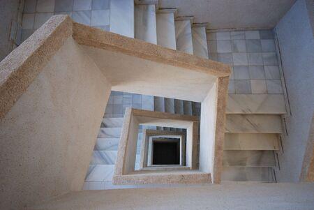 quadrate: Quadrate Staircase