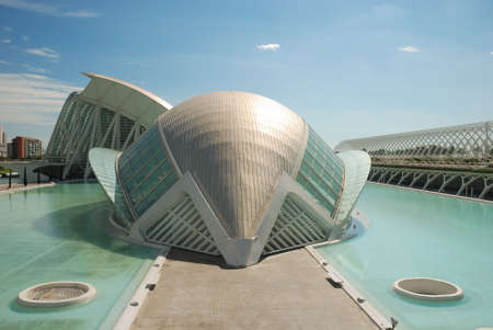 Ciudad de las Artes y las Ciencias - Valencia (City of the Arts and the Sciences - Valence)