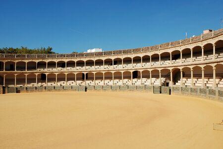 bullfighting: Bullfighting arena in Ronda, Spain
