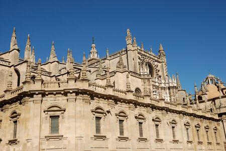 sevilla: Kathedraal in Sevilla, Spanje