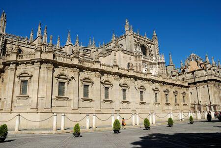 sevilla: Kathedraal van Sevilla, Spanje
