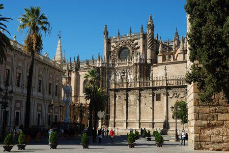 cat�licismo: Catedral de Santa Mar�a de la Sede, Sevilla, Espa�a