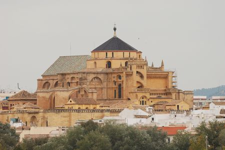caliphate: Mezquita in Cordova, Spain