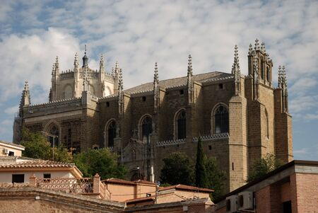 toledo: Medieval church in the old town of Toledo, Spain