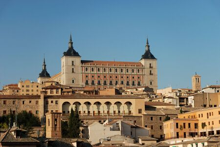 toledo: View over the old town of Toledo, Spain