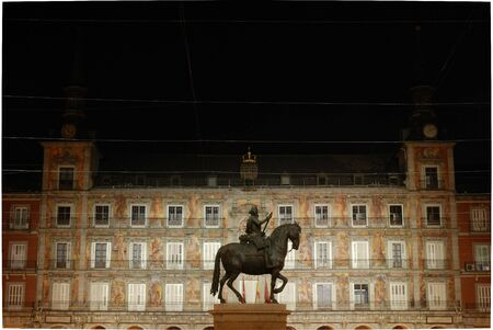 Plaza Mayor in Madrid, Spain Stock Photo - 2255303