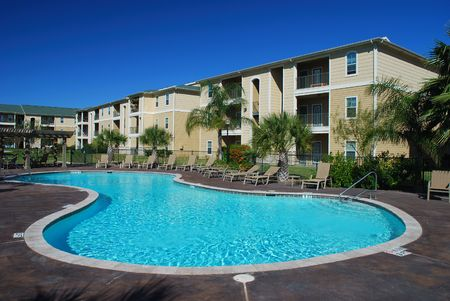 condominium: Swimimng pool and Apartment houses