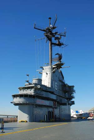 corpus: Deck of the aircraft carrier USS Lexington, Corpus Christi