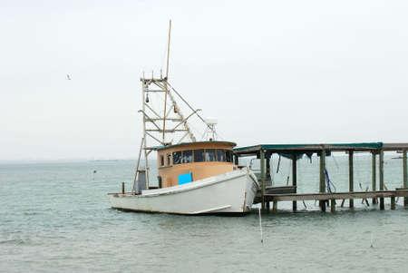 corpus: Fishing boat in Corpus Christi, Texas