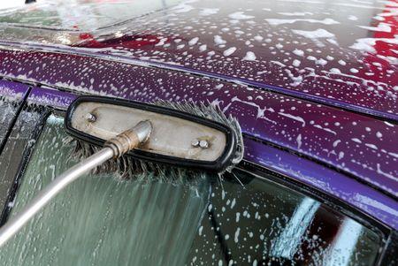Washing the car Stock Photo - 2603793