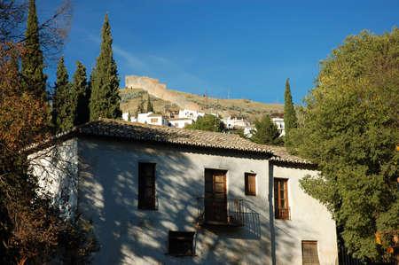 House in old Granada, Spain