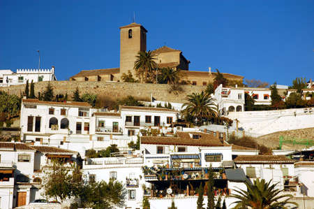 Albacyn - the old town of Granada, Spain