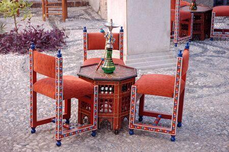 Cafe �rabe en Granada, Espa�a  Foto de archivo - 2722586