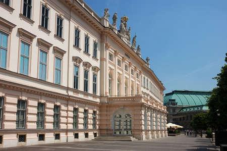 art museum: The Art Museum Albertina in Vienna Austria Stock Photo