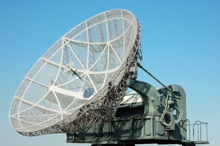 tactical military satellite dish