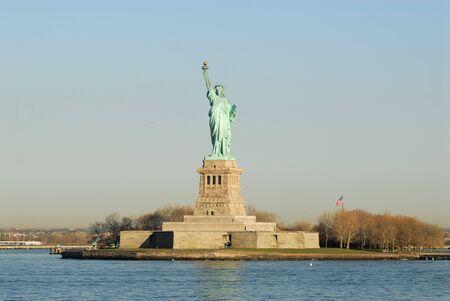 liberty island: Statua della Libert�, a Liberty Island, New York