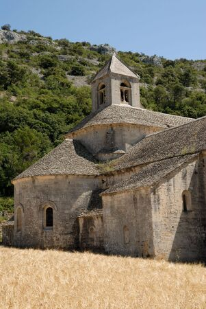 senanque: Senanque Abbey in southern France Stock Photo