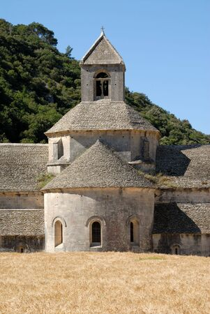 senanque: Senanque Abbey in the Provence, southern France Stock Photo