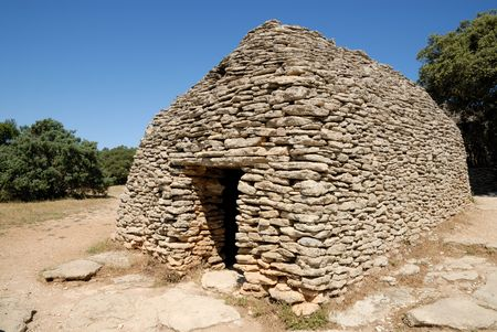 drystone: Borie - medieval dry-stone hut in southern France