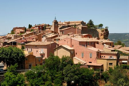 roussillon: Village Roussillon in the Provence, southern France