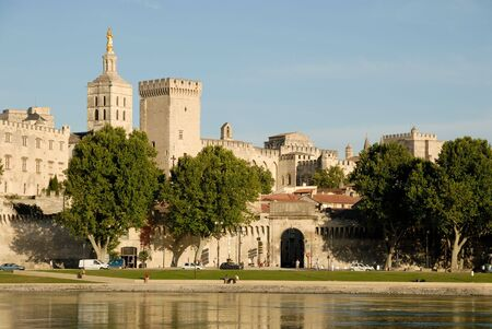 Popes Palace in Avignon, France Stock Photo - 3446030