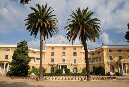 palau: Palau Reial de Pedralbes, Barcelona, Spain