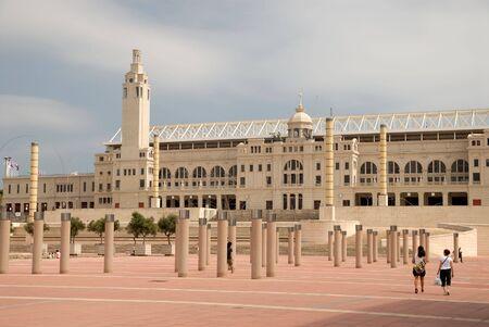 Olympic stadium in Barcelona, Spain Stock Photo - 3689524