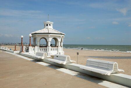 corpus: Promenade in Corpus Christi, Texas USA