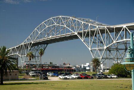 corpus: Harbor bridge in Corpus Christi, Texas USA Stock Photo