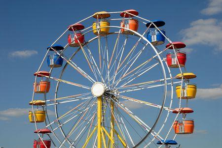 ferriswheel: Ferris ruota nel parco divertimenti