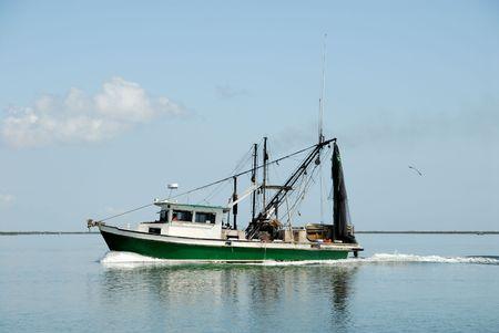 barca da pesca: La pesca in barca Archivio Fotografico