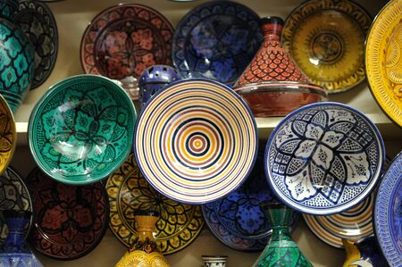 artisanry: Pottery in Marrakech, Morocco