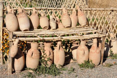 artisanry: Ceramic Amphoras for sale in Morocco