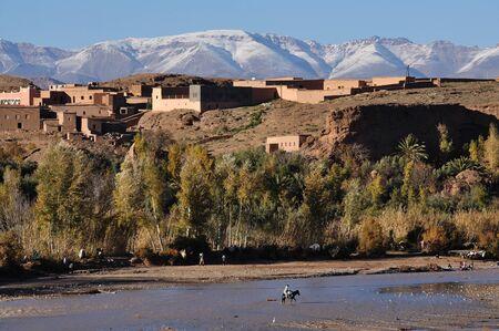 berber: Berber village in Morocco, Africa