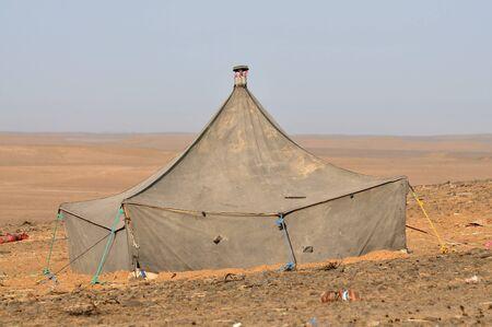 berber: Berber tent in the Sahara desert, Morocco Africa