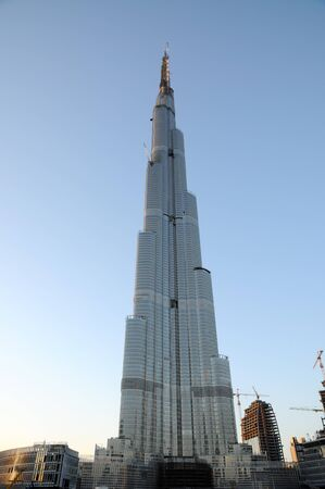 World tallest skyscraper Burj Dubai in Jan. 2009