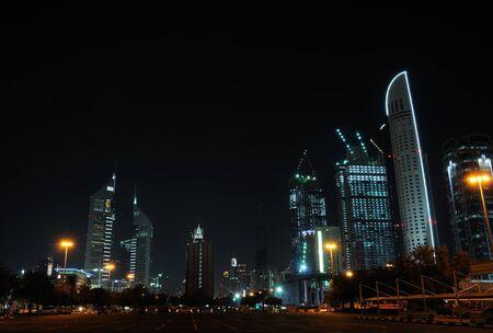 sheikh: Buildings at Sheikh Zayed Road in Dubai
