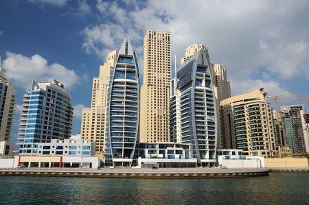 Verenigde Arabische Emiraten: Gebouwen op Dubai Marina, Verenigde Arabische Emiraten