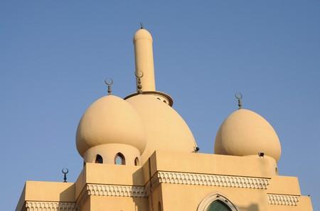 bur dubai: Mosque in Bur Dubai, United Arab Emirates