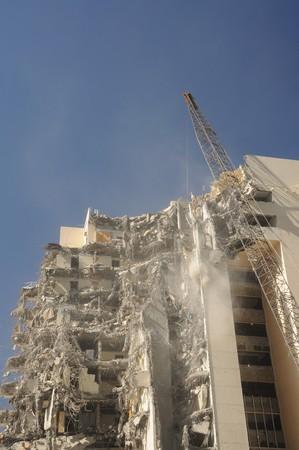 Building under demolition Stock Photo - 4388752