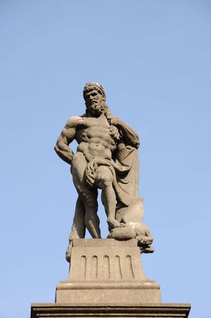 neptun: Neptun statue in Barcelona, Spain