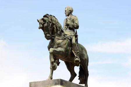 horseman: Statua di Cavaliere di Barcleona, Spagna