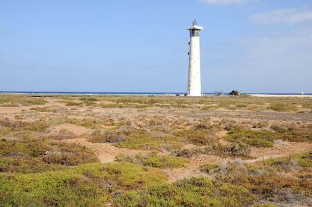 salt marsh: Salt marsh in Jandia Playa, Fuerteventura, Canary Islands, Spain Stock Photo
