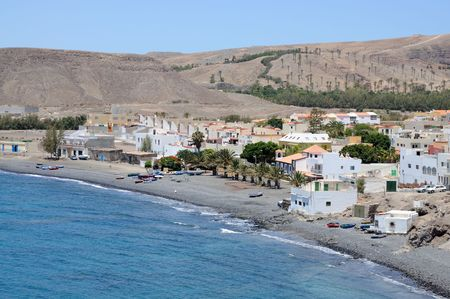 fishing village: Fishing village La Lajita, Canary Island Fuerteventura, Spain