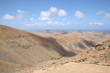 mountainscape: Mountains on Canary Island Fuerteventura, Spain