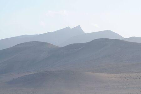 mountainscape: Mountains on Fuerteventura. Canary Islands, Spain