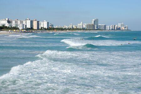 miami south beach: Miami South Beach, Florida USA Stock Photo