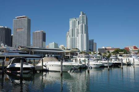 Miami Bayside Marina, Florida photo